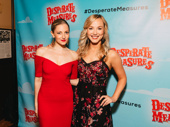 Desperate Measures cast members Lauren Molina and  Sarah Parnicky hang out.