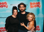 Broadway alums Lesli Margherita, Max Crumm and Jennifer Cody celebrate the show's opening.