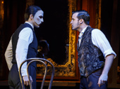 Bronson Norris Murphy as The Phantom & Sean Thompson as Raoul in the national tour of Love Never Dies.