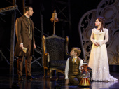 Sean Thompson as Raoul, Jake Heston Miller as Gustave & Meghan Picerno as Christine Daaé in the national tour of Love Never Dies. in the national tour of Love Never Dies.