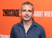 The Band's Visit's Tony-winning director David Cromer poses for the camera.