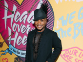 Stage and screen star Nathan Lee Graham has arrived.