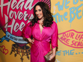 Stage favorite Lesli Margherita looks pretty in pink.