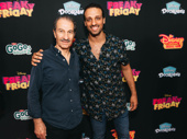 The Band's Visit stars Sasson Gabbay and Ari'el Stachel attend the red carpet premiere of Freaky Friday.