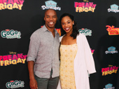 Broadway fave Rodney Hicks and Once on This Island star Hailey Kilgore.