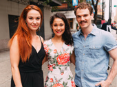 Phantom of the Opera alum Sierra Boggess gets together with current stars Ali Ewoldt and Jay Armstong Johnson.