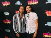 Hamilton's Anthony Lee Medina and Terrance Spencer looking stylish.