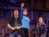 "Paul Whitty as Sully Sullivan, Marilu Henner as Sharon Papadopolous and Sawyer Nunes as Ricky ""Bling"" Goldstein in Gettin' the Band Back Together."