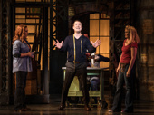 David Cook as Charlie Price in Kinky Boots.