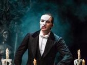 Ben Crawford as The Phantom in The Phantom of the Opera.