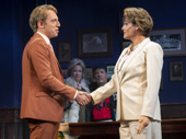 Max Gordon Moore and Alexandra Billings in The Nap