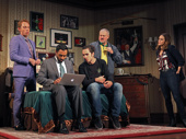 Max Gordon Moore, Bhavesh Patel, Ben Schnetzer, John Ellison Conlee and Heather  Lind in The Nap
