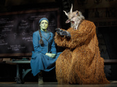 Mary Kate Morrissey & Chad Jennings in Wicked