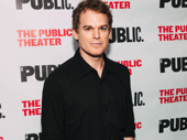 Stage and screen star Michael C. Hall arrives.
