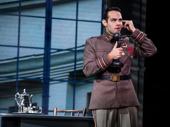 Jason Michael Evans (Gleb) in the national tour of Anastasia, photo by Matthew Murphy