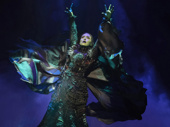 Jessica Vosk as Elphaba in Wicked.