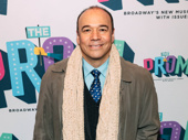 Tony nominee Danny Burstein steps out for the night.