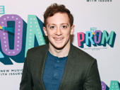 Tony nominee Ethan Slater hits the red carpet.