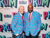 Upcoming Ruben & Clay's Christmas Show stars Clay Aiken and Ruben Studdard get into the holiday spirit.
