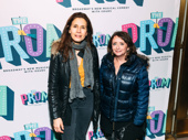 Tony nominee Jessica Hecht with upcoming Celebrity Autobiography star and comedian Rachel Dratch.