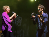 Liz Callaway and Darren Criss duet.