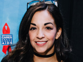 On Your Feet! star and former Broadway.com vlogger Ana Villafañe makes it happen at the 2016 Broadway Flea Market.