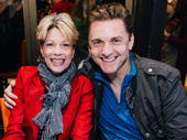 Awww! Theater couple Marin Mazzie and Jason Danieley hit the autograph table.