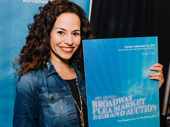 "Hamilton ""oldest, wittiest"" Schuyler sister Mandy Gonzalez steps out."