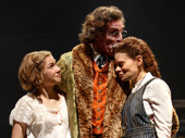Tavi Gevinson as Anya, John Glover as Gaev and Celia Keenan-Bolger as Varya in The Cherry Orchard.
