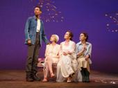 Kyle Beltran as Trofimov, Tavi Gevinson as Anya, Diane Lane as Lyubov Ranevskaya and Celia Keenan-Bolger as Varya in The Cherry Orchard.