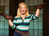 Haven Burton as Lauren in Kinky Boots.