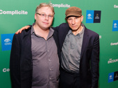 They made it through the Amazon on opening night! The Encounter's sound designer Gareth Fry and star/director/conceiver Simon McBurney get together.