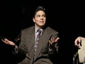 George Salazar as Michael and Nick Blaemire as Jon in Tick, Tick...BOOM!.