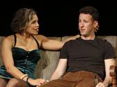 Nick Blaemire as Jon and Ciara Renee as Susan in Tick, Tick...BOOM!.