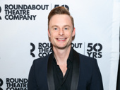 An American in Paris Tony winner Christopher Wheeldon attends the Broadway opening of the fancy-footed Holiday Inn.