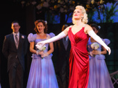 Holiday Inn bombshell Megan Sikora takes her opening night bow.