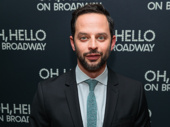 Nick Kroll looks sharp at his Broadway opening.