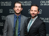 Welcome to Broadway, John Mulaney and Nick Kroll! Catch Oh, Hello at the Lyceum Theatre through January 8, 2017.