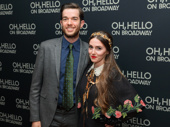 Awww! Oh, Hello star John Mulaney gets together with his wife Annamarie Tendler.