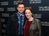 Waitress star Jessie Mueller and her beau Andy Truschinski got  a heaping helping of laughs on date night!