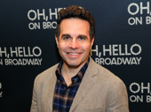 Of course Broadway's favorite Laugh Whore Mario Cantone steps out for Oh, Hello's opening.