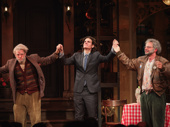 Oh, Hello director Alex Timbers joins Broadway's beloved geezers for a bow.