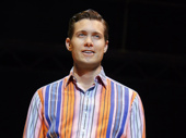 Drew Seeley as Bob Gaudio in Jersey Boys.