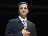 Mark Ballas as Frankie Valli in Jersey Boys.