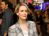 When are you coming back to the New York stage, Sarah Paulson? The stage and screen fave hits the carpet.