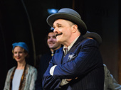 The comedy king himself! Nathan Lane takes his curtain call in The Front Page.