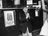Tony winner Robert Morse returns to the Great White Way in The Front Page.