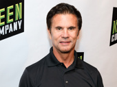 Remember Falcon Crest? TV hunk Lorenzo Lamas attends the opening of off-Broadway's Tick, Tick...BOOM!. See him off-Broadway The Fantasticks through November 6.
