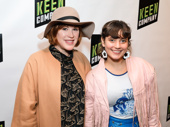 Another alum from Tick, Tick's original production: Molly Ringwald, who attends the off-Broadway opening with Hannah Dunne. The pair are appearing in a stage version of Terms of Endearment this fall.