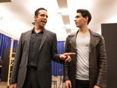 A Bronx Tale stars Nick Cordero and Bobby Conte Thornton perform.